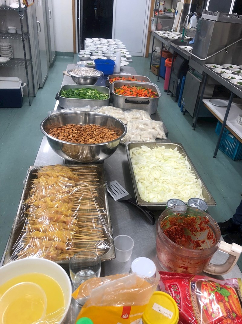 Tasty time at Ulverstone SLSC Thai Night